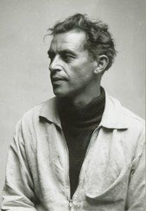 Laatst bekende portretfoto van Frits van Hall. © Museum Beelden aan Zee