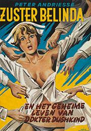 Hans Borrebach, omslag voor 'Zuster Belinda' (De Bezige Bij, 1971)