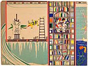 El Pintor, illustratie in 'Kom binnen in het huis van El Pintor (...)' (Variété, 1943)