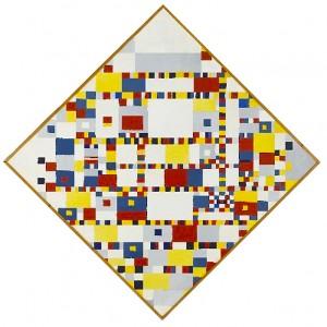 Willy Kock, Victory Boogie Woogie (naar Piet Mondriaan) 1946