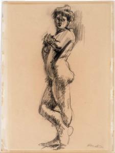 Henri Matisse, Staand naakt, 1900-1902 (herkomst onbekend)