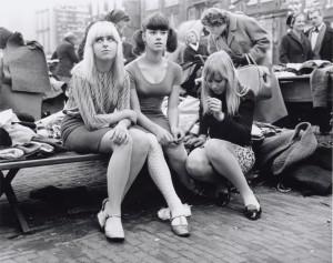 Waterlooplein, 1966. Foto Ben van Meerendonk. Collectie Internationaal Instituut voor Sociale Geschiedenis