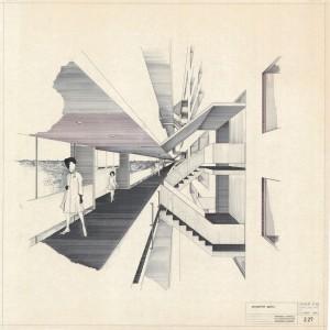 J.P. Kloos, Galerijwoningen Amsterdam, 1972. Collectie Het Nieuwe Instituut