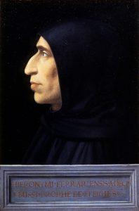 Portret van Girolamo Savonarola (1498-1500) Florence, Museo di San Marco