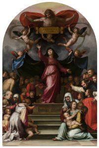 Madonna della Misericordia (ca. 1515) Lucca, Museo Nazionale di Villa Guinigi