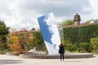 sky mirror, anish kapoor, museum de pont, tilburg, weerzien