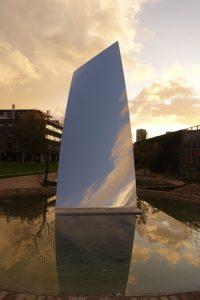 sky mirror, anish kapoor, museum de pont, weerzien, tilburg