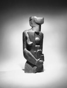 La Belle Servante, 1926, Bronze, 3/5, Susse Fondeur, Paris, Signé : O.Z., 103 x 35 x 27 cm, Inv. MZS 171