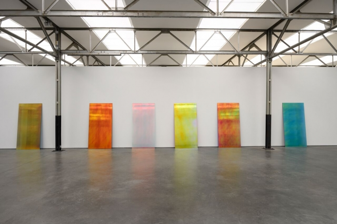 Ann Veronica Janssens, Gaufrette Sequence no. 2, 2018, courtesy de kunstenaar; foto Peter Cox