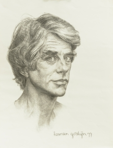 Herman Gordijn Zelfportret 1977 Museum Nairac Barneveld