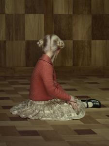 Erwin Olaf, Keyhole #6. 2012 © Erwin Olaf. Courtesy Flatland Gallery.