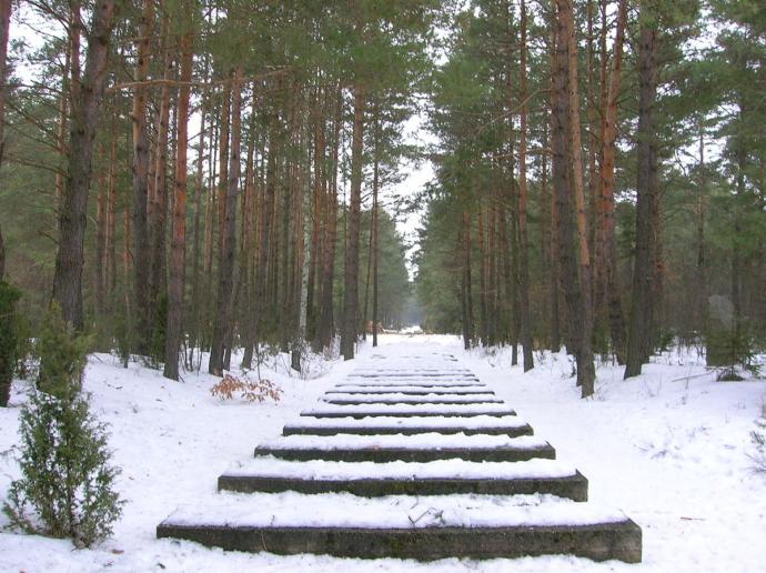 Treblinka treinrails