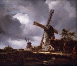 Molen, Haarlem, Landschap